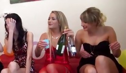 Party with the mischievous bimbo whores with lot of fun