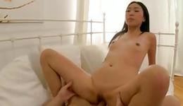 This non-traditional sluttish hooker is riding disobedient on a coarse tasty sugar-plum